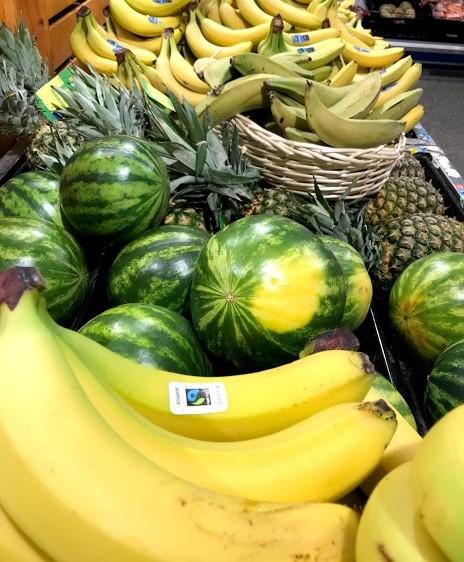 Banaanit ja melonit